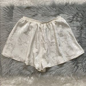 Vintage Victoria's Secret loose fit satin shorts